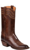 Lucchese Devin GY1518.13 Mens Tan Burnished Ranch Hand Calfskin Boots