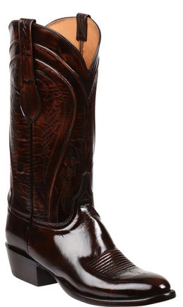 Lucchese Gavin GY1521 Mens Brown Goat Boots