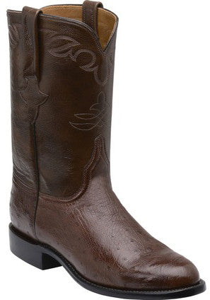 Lucchese GY3002 WARD Mens Sienna Smooth Ostrich Boots