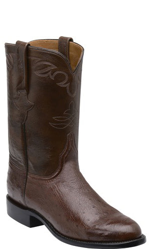 Lucchese Ward GY3002 Mens Sienna Smooth Ostrich Boots