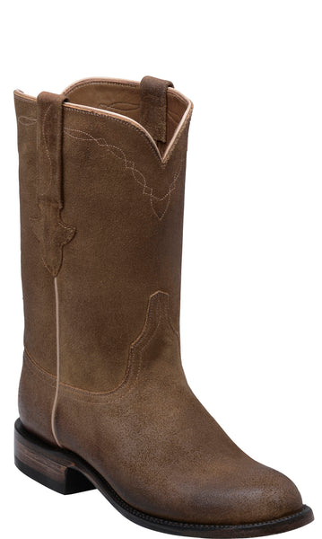 Lucchese BANNOCK GY3503.RR Mens Sand Burnished Wax Comanche Calfskin Boots
