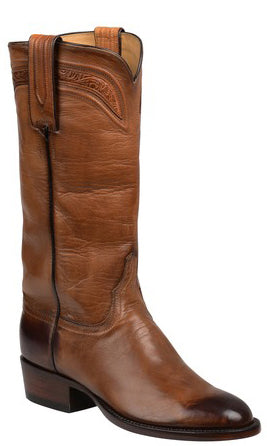 Lucchese Bliss GY4511 Womens Dark Brown Royal Calfskin Boots
