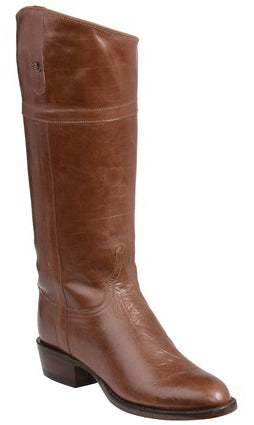 Lucchese Riley GY4517.88 Womens Almond Calfskin English Rider Boots