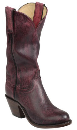 Lucchese GY4522.S82F BRITTON Womens Red Mad Dog Goat Boots