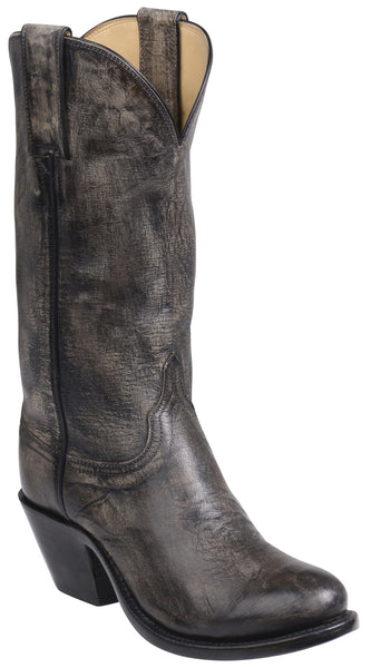 Lucchese GY4523 BRITTON Womens Anthracite Grey Mad Dog Goat Boots
