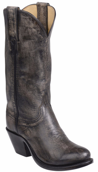 Lucchese GY4523.S82F BRITTON Womens Anthracite Grey Mad Dog Goat Boots