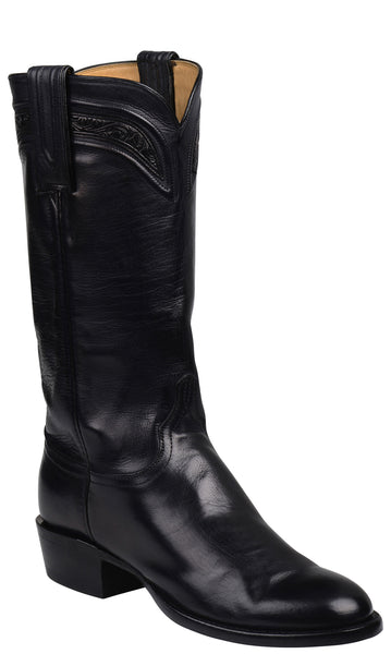 Lucchese Bliss GY4525 Womens Black Royal Calfskin Boots