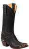 Lucchese GY4530.S54 RAVEN Womens Chocolate Burnished Mad Dog Goat Boots