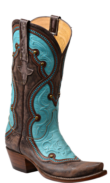 Lucchese Averill GY4531 Womens Brown Goat Boots