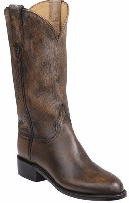 Lucchese GY5500 BLAIR Womens Pearl Bone Mad Dog Goat Boots