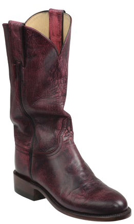 Lucchese Blair GY5501.RR Womens Red Mad Dog Goat Boots