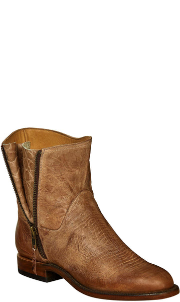 Lucchese HARPER GY6201 Womens Tan Burnished Mad Dog Goat Boots
