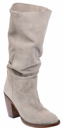 Lucchese GY6211 SERENA Womens Grey Suede Boots