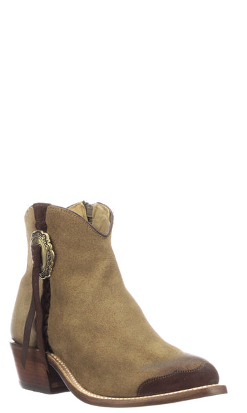 Lucchese Isabel GY7528 Womens Olive Comanche Calfskin Boots