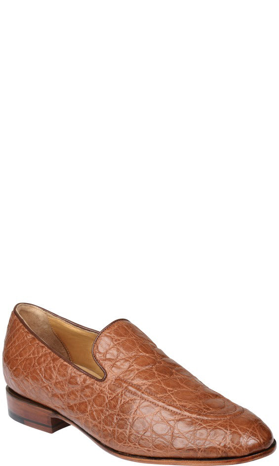 Lucchese GY8013 REED Mens Cognac Giant Alligator Shoes