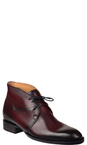 Lucchese Bootmaker Tagged Quot Black Cherry Quot Cowboy Chief