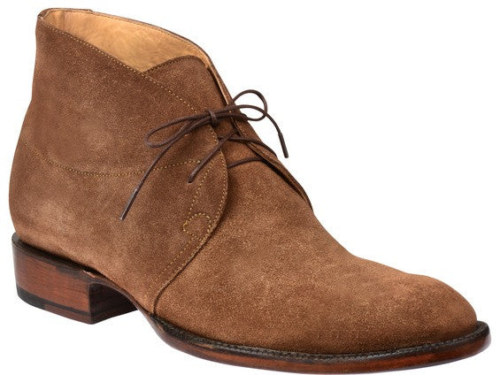 Lucchese GY8507 EVAN Mens Espresso Suede Chukka Boots