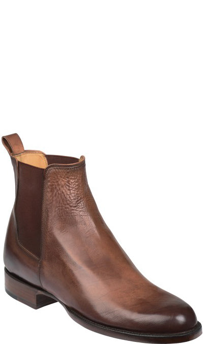 Lucchese GY8512 Grayson Mens Dark Brown Royal Calfskin Chelsea Boots