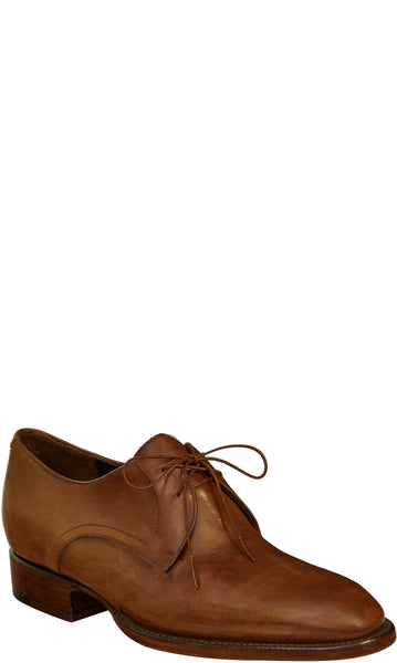 Lucchese DAMON GY8539 Mens Antique Tan Dress Leather Shoes