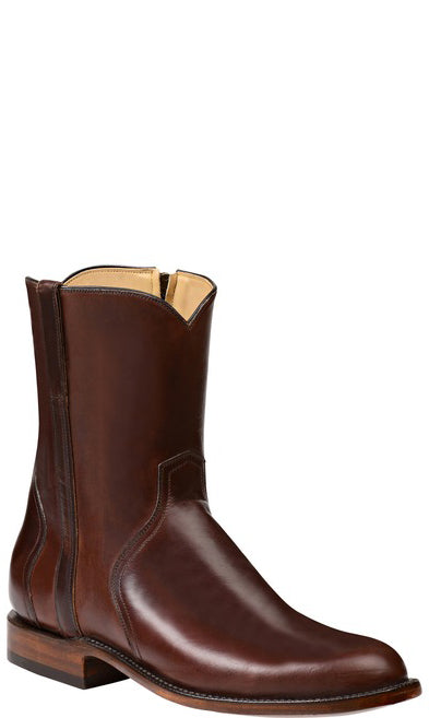 Lucchese Scout GY8901 Mens Chocolate Oil Calfskin Boots