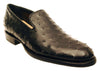 Lucchese GYL8020 Mens Black Full Quill Ostrich Oxford Shoes Size 11 D STALL STOCK