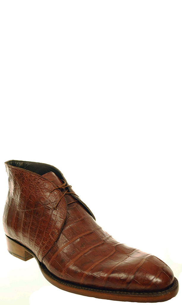 Lucchese GYL8072 Mens Sienna Brown Belly Caiman Crocodile Oxford Shoes Size 10.5 D STALL STOCK