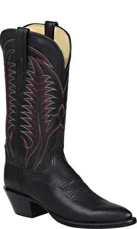 Lucchese WINNIE H4507 Womens Black Ranch Hand Calfskin Boots