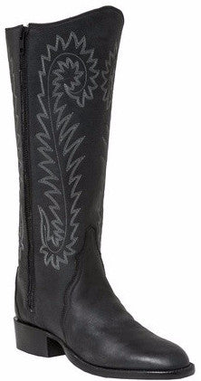 Lucchese H4512.88 DARBY Womens Black Calfskin Boots