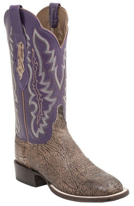 Lucchese HY5501.W8 Susana Womens Tan Burnished Old English Goat Boots
