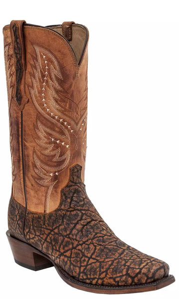 Lucchese WES HL1025.73 Mens Cognac Elephant Boots