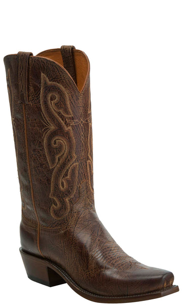 Lucchese KD1501.73 Mens Brown Goat Boots