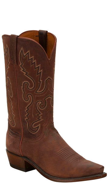 Lucchese KD1502.53 Mens Rust Brown Goat Boots