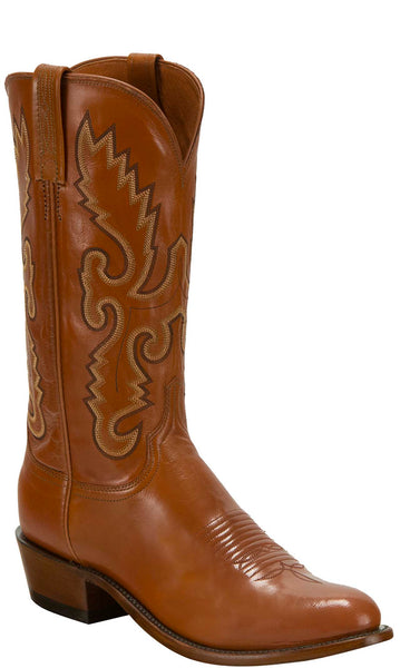 Lucchese KD1504.R3 Mens Cognac Buffalo Boots