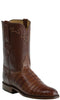 Lucchese KD3001.RR Mens Brown Caiman Crocodile Belly Boots