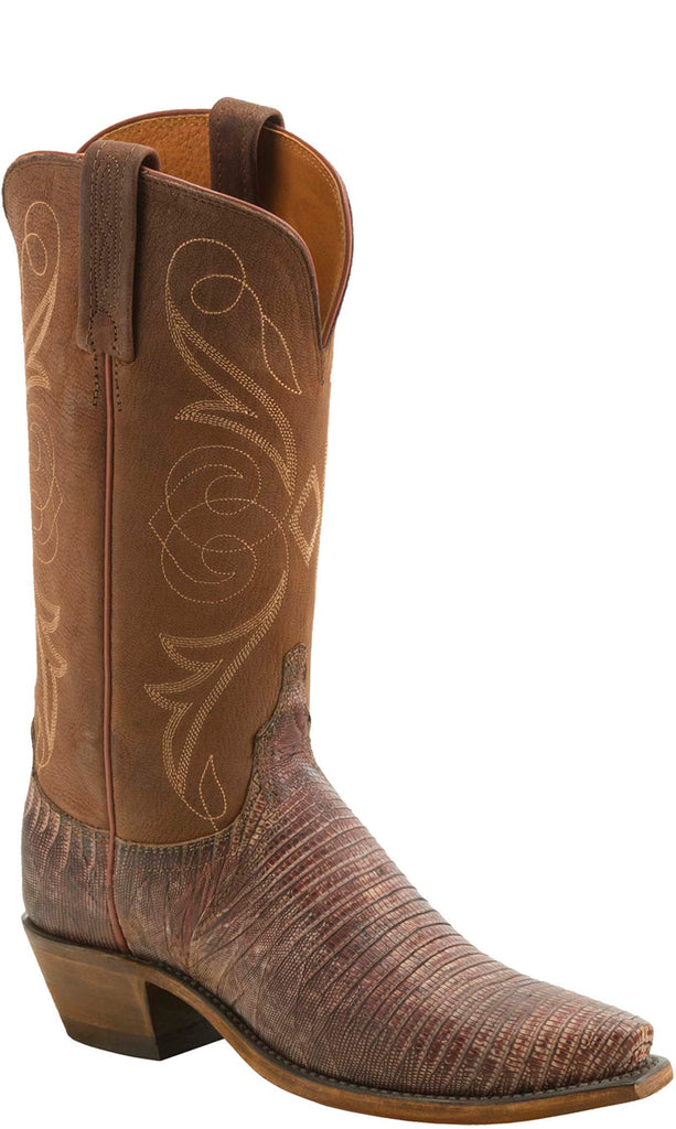 Lucchese KD4005.54 Womens Brown Lizard Boots