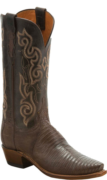 Lucchese KD4006.54 Womens Brown Lizard Boots