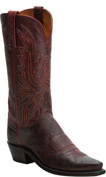Lucchese KD4500.54 Womens Red  Goat Boots