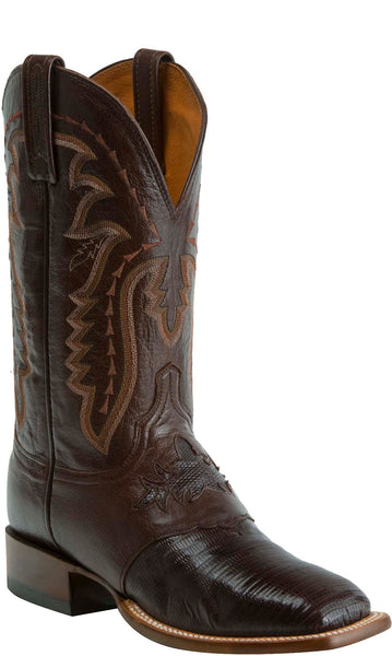 Lucchese KD6009.WF Mens Brown Lizard Boots