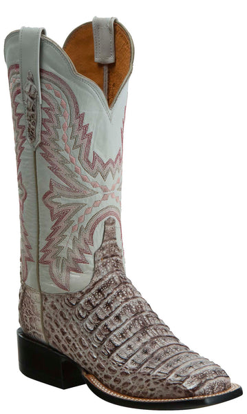 Lucchese KD8000.WF Womens Multi Hornback Caiman Crocodile Boots