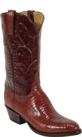 Lucchese Classics L1218 Peanut Brittle Lizard Mens Boots