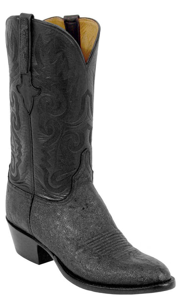 Lucchese Classics L1227 Mens Black African Elephant Custom Handmade Boots