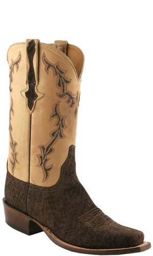 Lucchese Classics L1423 Chocolate Hippo Mens Boots
