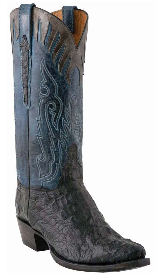 Lucchese Classics L1442.53 Mens Caiman Crocodile Boots