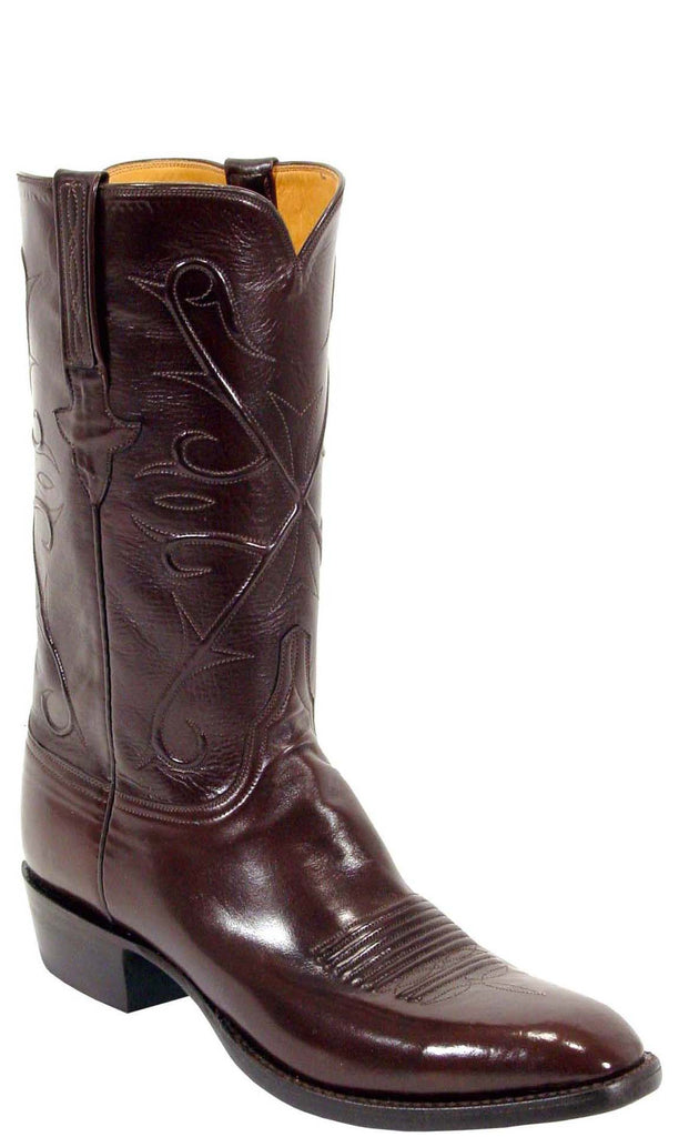 Lucchese Classics L1503 Mens Chocolate Kangaroo Boot