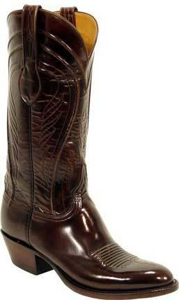 Lucchese L1507.64 Mens Brown Goat Boots
