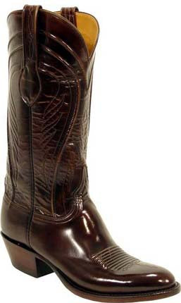 Lucchese L1507 Mens Brown Goat Cowboy Classics Boots