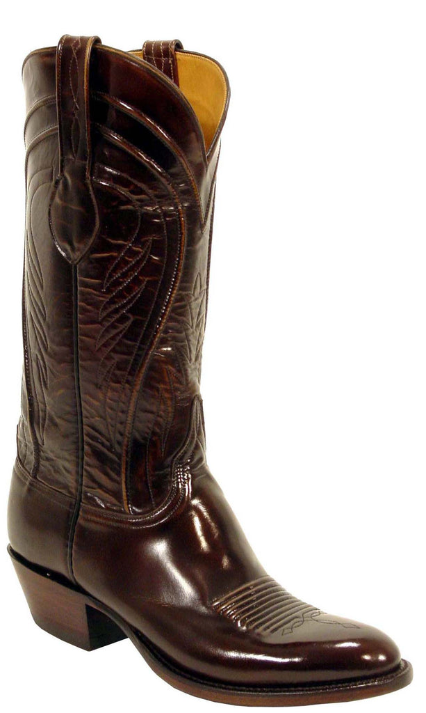 Lucchese L1507.14 Mens Brown Goat Cowboy Classics Boots