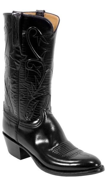 Lucchese Classics L1515.14 Mens Black Goat Boots