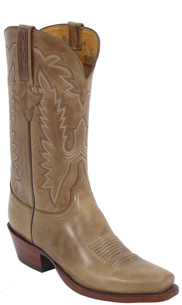 Lucchese Classics GD5313.54 Mens Buck Oiled Calfskin Boots Butyl Sole Size 10 E STALL STOCK