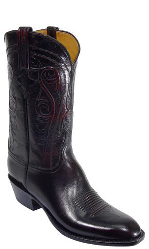 Lucchese Classics L1580 Mens Black Cherry Buffalo Boot